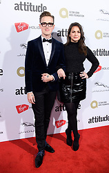 EDITORIAL USE ONLY<br /> Tom and Giovanna Fletcher attend the Virgin Holidays Attitude Awards at the Roundhouse, London.