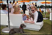 ANNABEL SIMPSON; HENRY CONWAY, 2004 Veuve Clicquot Gold Cup Final at Cowdray Park Polo Club, Midhurst. 20 July 2014