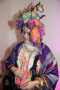 Bethan Laura Wood,, Isabella Blow: Fashion Galore! private view, Somerset House. London. 19 November 2013