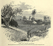 Jenin the Ancient En-Gannim [Engannim] Engraving on Wood from Picturesque Palestine, Sinai and Egypt by Wilson, Charles William, Sir, 1836-1905; Lane-Poole, Stanley, 1854-1931 Volume 2. Published in New York by D. Appleton in 1881-1884
