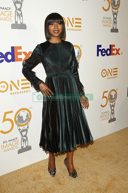 March 9, 2019 - Los Angeles, CA, USA - LOS ANGELES - MAR 9:  Gabrielle Dennis at the 50th NAACP Image Awards Nominees Luncheon at the Loews Hollywood Hotel on March 9, 2019 in Los Angeles, CA (Credit Image: © Kay Blake/ZUMA Wire)