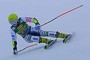 SOELDEN, AUSTRIA. OCTOBER 17 2020:  1st Women's Giant Slalom as part of the Alpine Ski World Cup in Solden on October 17, 2020; Run 1, Neja Dvornik (SLO) ( Pierre Teyssot/ESPA Images-Image of Sport)