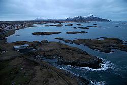 NORWAY ANDENES 8DEC15 - General view of the town and coast of Andenes, Norway.<br /> <br /> jre/Photo by Jiri Rezac / Greenpeace<br /> <br /> © Jiri Rezac 2015