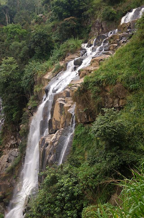 Little Rawana Ella Falls, Southern Highlands, Sri Lanka