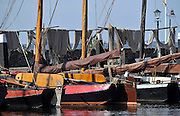 Nederland, Urk, 25-8-2011Zicht op de haven van dit voormalig eiland. Passantenhaven, plezierboten, recreatiehaven,watersport,jachthaven.Foto: Flip Franssen/Hollandse Hoogte
