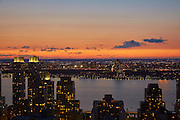 View of Hudson River from 160 West 66th Street, 45th Floor