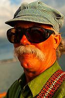 Sunset cruise aboard the Schooner Western Union, Key West, Florida Keys, Florida USA