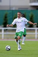 FOOTBALL - FRIENDLY GAMES 2010/2011 - AS SAINT ETIENNE v NEUCHATEL XAMAX - 28/07/2010 - PHOTO JEAN MARIE HERVIO / DPPI - LAURENT BATLLES (ASSE)