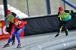 17-03-2011 ALGEMEEN: LIGA SCHAATSCLINIC: UTRECHT<br /> Op de Vechtsebanen in Utrecht hield schaatsteam LIGA een clinic voor haar klanten - Marianne Timmer<br /> © Ronald Hoogendoorn Photography
