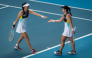 Latisha Chan and Hao-Ching Chan of Chinese Taipeh playing doubles at the 2020 Australian Open, WTA Grand Slam tennis tournament on January 29, 2020 at Melbourne Park in Melbourne, Australia - Photo Rob Prange / Spain ProSportsImages / DPPI / ProSportsImages / DPPI