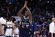 Abass Awudu<br /> Fortitudo Pompea Bologna - Germani Basket Brescia<br /> Lega Basket Serie A 2019/2020<br /> Bologna, 03/11/2019<br /> Foto Gennaro Masi / Ciamillo-Castoria