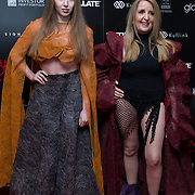 Gillian McKeith Arrivers at Once Upon a Time in London - London premiere of the rise and fall of a nationwide criminal empire that paved the way for notorious London gangsters the Kray Twins and the Richardsons at The Troxy 490 Commercial Road, on 15 April 2019, London, UK.