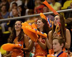 01-06-2014 NED: WLV Nederland - Zuid Korea, Eindhoven <br /> Oranje publiek support