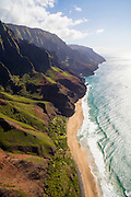 Kalalau Beach, Napali Coast, Kauai, Hawaii