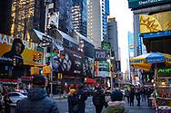 NEW YORK  2020V10<br /> Alltid ett myller av människor vid Times Square.<br /> <br /> Foto: Per Danielsson/Projekt.P
