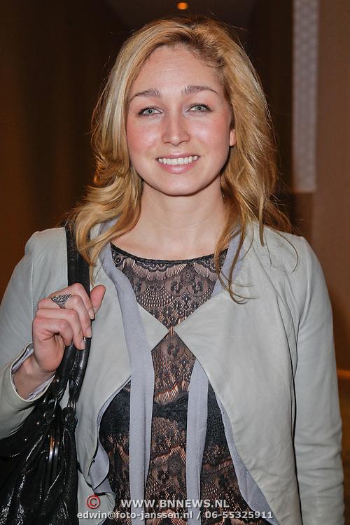 NLD/Amsterdam/20120131 - Uitreiking Beauty Astir Awards 2011, Do, Dominique van Hulst en partner Mark Verschoor
