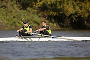 Crew: 33 - Parnell / Parnell - Team Keane Sculling School - Op 2- Championship <br /> <br /> Pairs Head 2020
