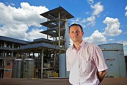 O presidente da Olfar, José Carlos Weschenfelder, na sede da empresa, em Erechim. FOTO: Jefferson Bernardes/Preview.com