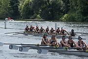 Henley. Berks, United Kingdom. <br /> <br /> J8. Buckenham B&N Schoo,l USA. competing at  the2017 Henley' Women's Regatta. Rowing on, Henley Reach. River Thames. <br /> <br /> <br /> Saturday  17/06/2017<br /> <br /> <br /> [Mandatory Credit Peter SPURRIER/Intersport Images]