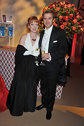 DAN STEVENS and SUSIE HARRIET at the Raisa Gorbachev Foundation Gala held at the Stud House, Hampton Court, Surrey on 22nd September 22 2011