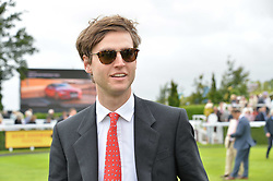 Milo Sangster at the Qatar Goodwood Festival, Goodwood, West Sussex England. 3 August 2017.<br /> Photo by Dominic O'Neill/SilverHub 0203 174 1069 sales@silverhubmedia.com