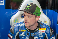 September 29, 2018 - 22, Alex Lowes, GBR, Yamaha YZF R1, Pata Yamaha Official WorldSBK Team, SBK 2018, MOTO - SBK Magny-Cours Grand Prix 2018, Free Practice 4, 2018, Circuit de Nevers Magny-Cours, Acerbis French Round, France ,September 29 2018, action during the SBK Free Practice 4 of the Acerbis French Round on September 29 2018 at Circuit de Nevers Magny-Cours, France (Credit Image: © AFP7 via ZUMA Wire)