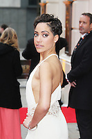 Cush Jumbo, The Laurence Olivier Awards, Royal Opera House London UK, 28 April 2013, (Photo by Richard Goldschmidt)