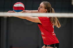 / in action during the first league match between Laudame Financials VCN vs. Apollo 8 on February 06, 2021 in Capelle aan de IJssel.