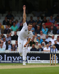 July 27, 2017 - London, United Kingdom - Morne Morkel of South Africa .during the International Test Match Series Day One match between England and South Africa at  The Kia Oval Ground in London on July 27, 2017  (Credit Image: © Kieran Galvin/NurPhoto via ZUMA Press)