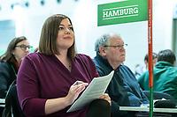 16 NOV 2019, BIELEFELD/GERMANY:<br /> Katharina Fegebank, B90/Gruene, 2. Buergermeisterin Hamburg, Bundesdelegiertenkonferenz Buendnis 90 / Die Gruenen, Stadthalle<br /> IMAGE: 20191116-01-017<br /> KEYWORDS: Parteitag, Bundesparteitag, Party congress, BDK; Die Grünen