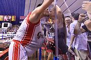 DESCRIZIONE : Venezia Lega A 2014-15 Umana Venezia-Grissin Bon Reggio Emilia  playoff Semifinale gara 7<br /> GIOCATORE :Cinciarini Andrea<br /> CATEGORIA :  Low Esultanza Tifosi<br /> SQUADRA : GrissinBon Reggio Emilia<br /> EVENTO : LegaBasket Serie A Beko 2014/2015<br /> GARA : Umana Venezia-Grissin Bon Reggio Emilia playoff Semifinale gara 7<br /> DATA : 11/06/2015 <br /> SPORT : Pallacanestro <br /> AUTORE : Agenzia Ciamillo-Castoria /Richard Morgano<br /> Galleria : Lega Basket A 2014-2015 Fotonotizia : Reggio Emilia Lega A 2014-15 Umana Venezia-Grissin Bon Reggio Emilia playoff Semifinale gara 7<br /> Predefinita :