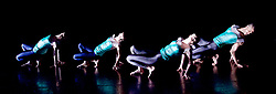Julie Cunningham and Company<br /> Double Bill<br /> at The Pitt, Barbican Theatre, London, Great Britain <br /> 8th March 2017 <br /> <br /> Julie Cunningham <br /> Harry Alexander<br /> Alexander Williams<br /> Hannah Burfield<br />  <br /> Award-winning dancer and nominee of the 2016 Critics' Circle National Dance Award for Emerging Artist, Julie Cunningham launches her newly formed company, and makes her Barbican choreographic debut with an expressive double bill about gender and identity.<br />  <br /> Piece 1: Returning <br /> <br /> <br /> <br /> Photograph by Elliott Franks <br /> Image licensed to Elliott Franks Photography Services