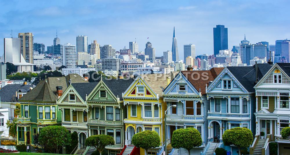 Painted Ladies of San Francisco California