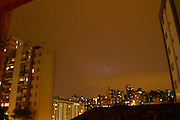 Belo Horizonte_MG, Brasil...Chuva com raios em Belo Horizonte...The rain with lightnings in Belo Horizonte...Foto: LEO DRUMOND / NITRO