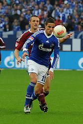 27-10-2012 VOETBAL:SCHALKE 04 - FC NURNBERG: GELSENKIRCHEN<br /> Ibrahim Afellay<br /> ***NETHERLANDS ONLY***<br /> ©2012-FotoHoogendoorn.nl
