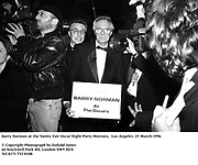 Barry Norman at the Vanity Fair Oscar Night Party Mortons,  Los Angeles. 25 March 1996<br /><br />© Copyright Photograph by Dafydd Jones<br />66 Stockwell Park Rd. London SW9 0DA<br />Tel 0171 733 0108