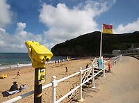 Beach life at Grev du leq, Jersey