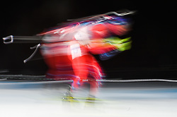 February 11, 2018 - Pyeongchang, Gangwon, South Korea - Matej Kazar of Slovakia at Mens 10 kilometre sprint Biathlon at olympics at Alpensia biathlon stadium, Pyeongchang, South Korea on February 11, 2018. (Credit Image: © Ulrik Pedersen/NurPhoto via ZUMA Press)