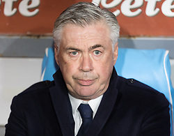 January 13, 2019 - Naples, Campania, Italy - Coach of SSC Napoli Carlo Ancelotti seen before the Serie A football match between SSC Napoli vs US Sassuolo at San Paolo Stadium. (Credit Image: © Ernesto Vicinanza/SOPA Images via ZUMA Wire)