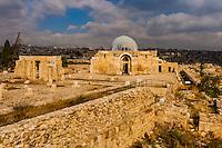 Ummayad Palace, archaeological ruins, Amman Citadel, Amman, Jordan