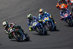 October 28, 2018 - Melbourne, Victoria, AUSTRALIE - JOHANN ZARCO - FRENCH - MONSTER YAMAHA TECH 3 - YAMAHA.VALENTINO ROSSI - ITALIAN - MOVISTAR YAMAHA MotoGP - YAMAHA.ALEX RINS - SPANISH - TEAM SUZUKI ECSTAR - SUZUKI.MAVERICK VINALES - SPANISH - MOVISTAR YAMAHA MotoGP - YAMAHA (Credit Image: © Panoramic via ZUMA Press)