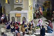 Nederland, the netherlands, Groesbeek, Heilig Landstichting, 8-12-2018In museumpark Orientalis worden elk jaar voor kerstmis kerststallen tentoongesteld. Dit jaar staat er de grootste kerststal van europa. Een diorama met het o.a. meer van Galliolea en het stadje Bethlehem.Foto: Flip Franssen