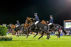 Fredricson Peder, Von Essen Angelie, Evelina Tovek, Henrik von Eckermann, SWE, <br /> CHIO Aachen 2019<br /> © Hippo Foto - Sharon Vandeput<br /> 18/07/19