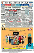 October 06, 2021 - ASIA-PACIFIC: Front-page: Today's Newspapers In Asia-Pacific
