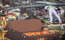 03.01.2013, Bergisel Schanze, Innsbruck, AUT, FIS Ski Sprung Weltcup, 61. Vierschanzentournee, Training, im Bild Krzysztof Mietus (POL) // Krzysztof Mietus of Poland during practice Jump of 61th Four Hills Tournament of FIS Ski Jumping World Cup at the Bergisel Schanze, Innsbruck, Austria on 2013/01/03. EXPA Pictures © 2012, PhotoCredit: EXPA/ Juergen Feichter