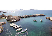 France, Marseille, fishing harbour on th coast