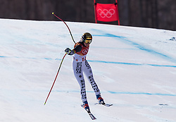 February 17, 2018 - PyeongChang, South Korea - VIKTORIA REBENSBURG of Germany during Alpine Skiing: Ladies Super-G at Jeongseon Alpine Centre at the 2018 Pyeongchang Winter Olympic Games. (Credit Image: © Patrice Lapointe via ZUMA Wire)