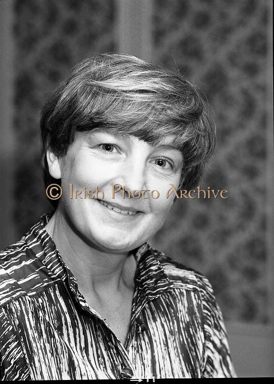 Calor Kosangas Housewife of the Year..1980-10-07.7th October 1980.07/10/1980.10-07-80..Photographed at Gresham Hotel, Dublin..Grainne O'Driscoll (Drumcondra)