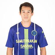 THAILAND - APRIL 09: Boworn Tapla #32 of Samut Prakan City FC on April 09, 2019.<br /> .<br /> .<br /> .<br /> (Photo by: Naratip Golf Srisupab/SEALs Sports Images/MB Media Solutions)