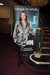 TAMARA ECCLESTONE at the Cirque du Soleil's gala premier of Quidam held at the Royal Albert Hall, London on 6th January 2009